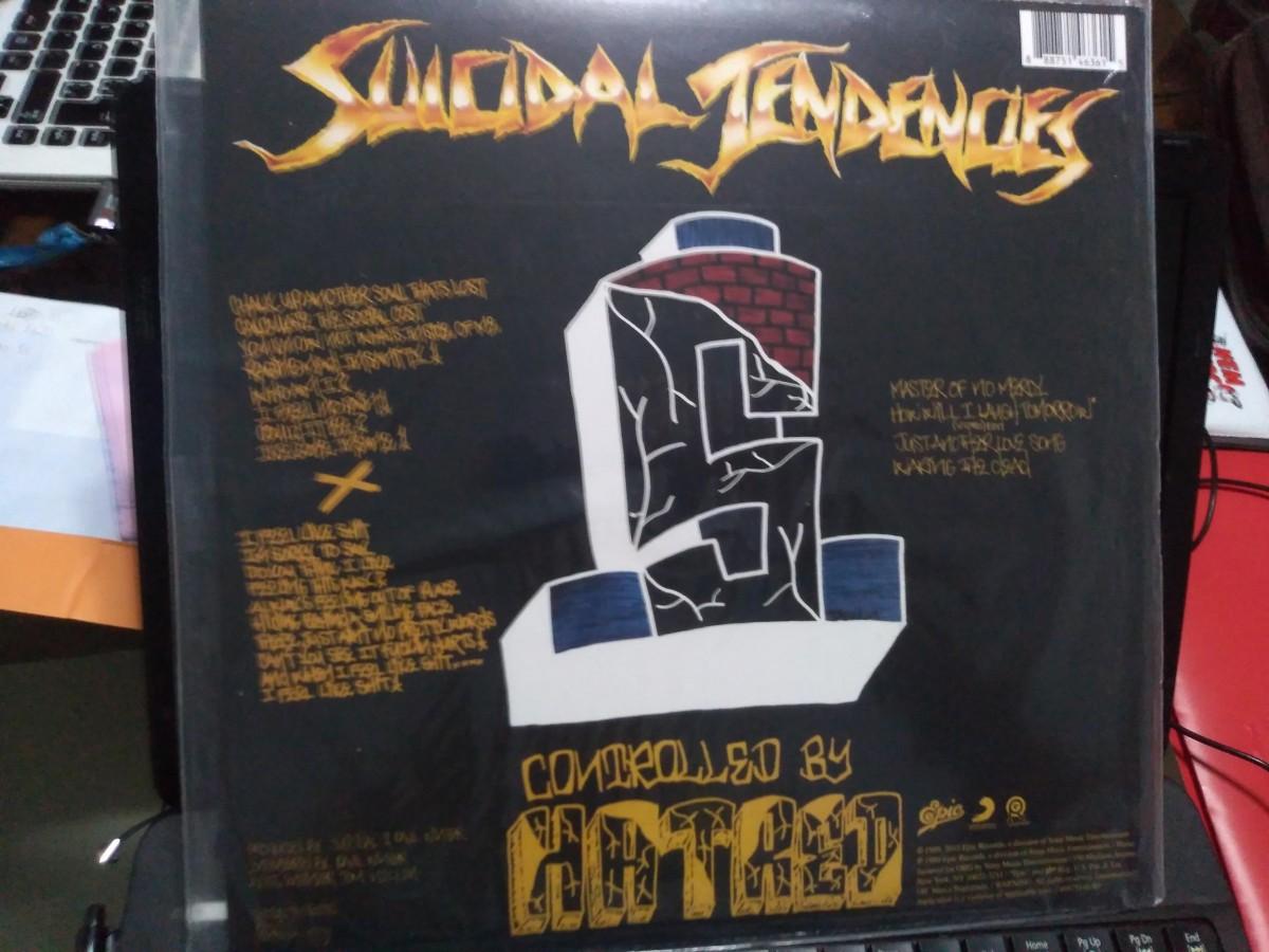 Foto4 - SUICIDAL TENDENCES, Lp 180gr Controlled By Hatred, 1989 + bônus, reed 2015 Estados Unidos