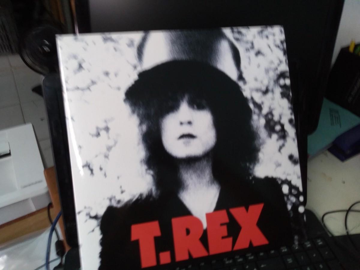 Foto 1 - T.REX (tyranossaurus rex, marc bolan), LP T.Rex - The Slider, 1971 Fatpossum-2010 importado