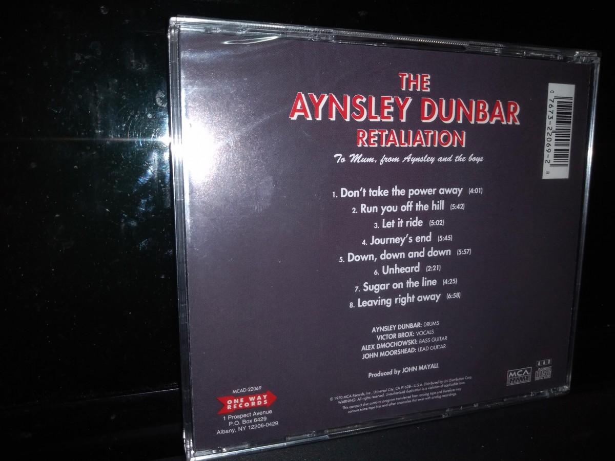 Foto5 - THE AYNSLEY DUNBAR RETALIATION, Cd To Mum From Aynsley And The Boys, 1970 imp.