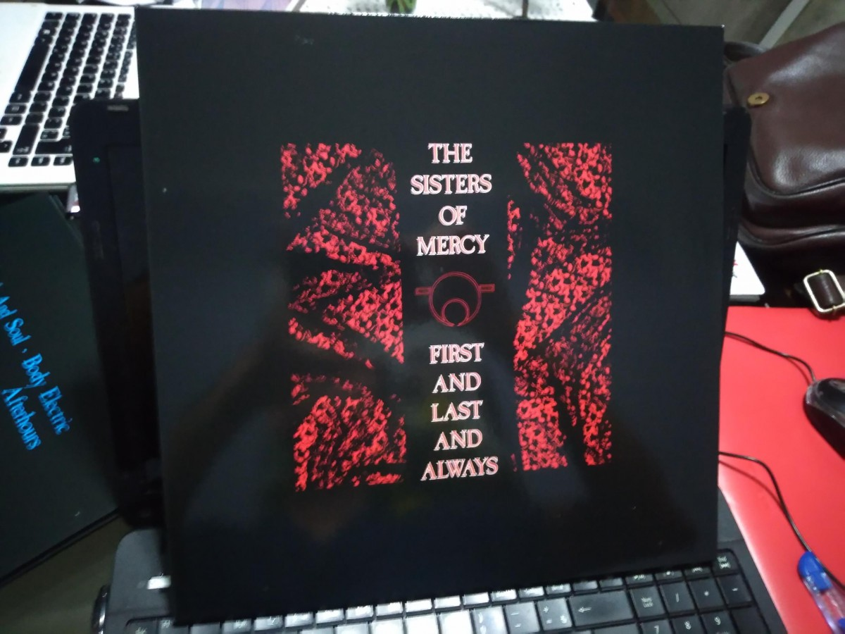 Foto5 - THE SISTERS OF MERCY, Lp 180gr First And Last And Always, 1985 capa dupla reedição 2015 importado