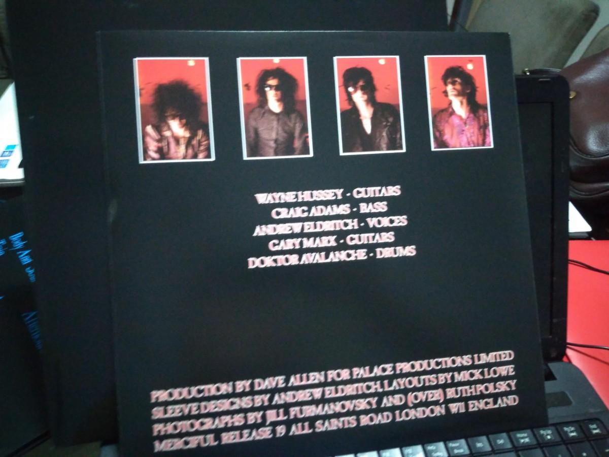 Foto6 - THE SISTERS OF MERCY, Lp 180gr First And Last And Always, 1985 capa dupla reedição 2015 importado