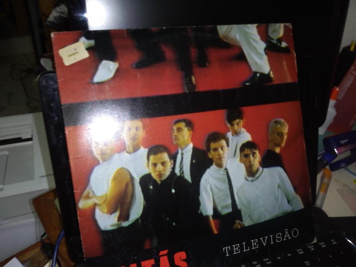 Foto 1 - TITÃS, LP Televisão, Warner-1985 reedição 1989 com envelope interno e tudo zero km.
