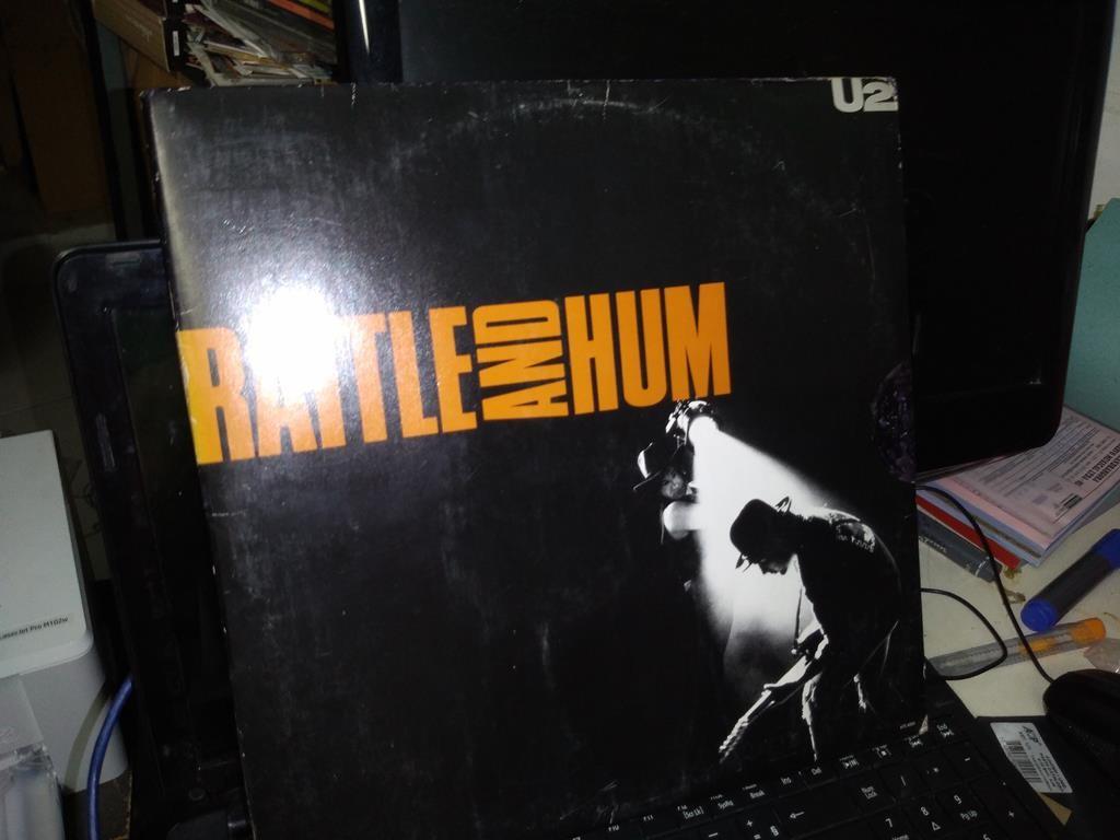 Foto 1 - U2, Lp duplo Rattle And Hum, Island-1988