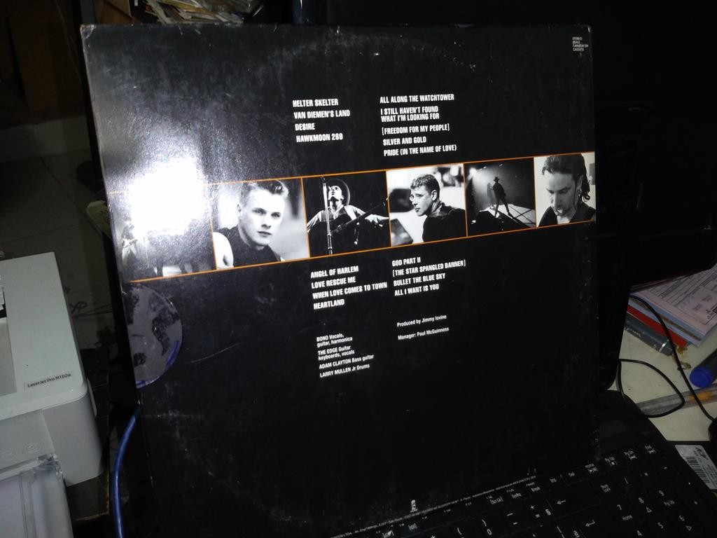 Foto5 - U2, Lp duplo Rattle And Hum, Island-1988