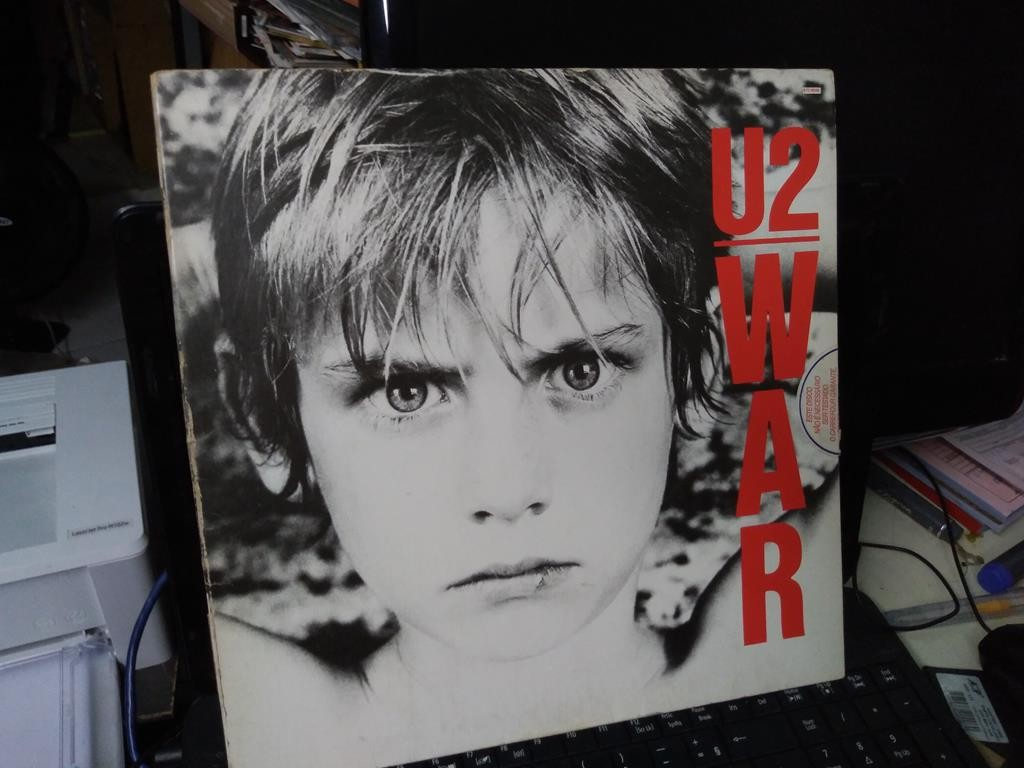 Foto 1 - U2, Lp War, Island-1983 Sunday Bloody Sunday