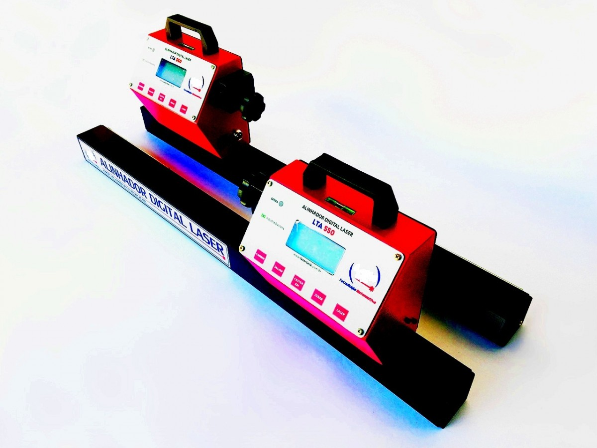 Foto2 - Alinhador Digital Laser