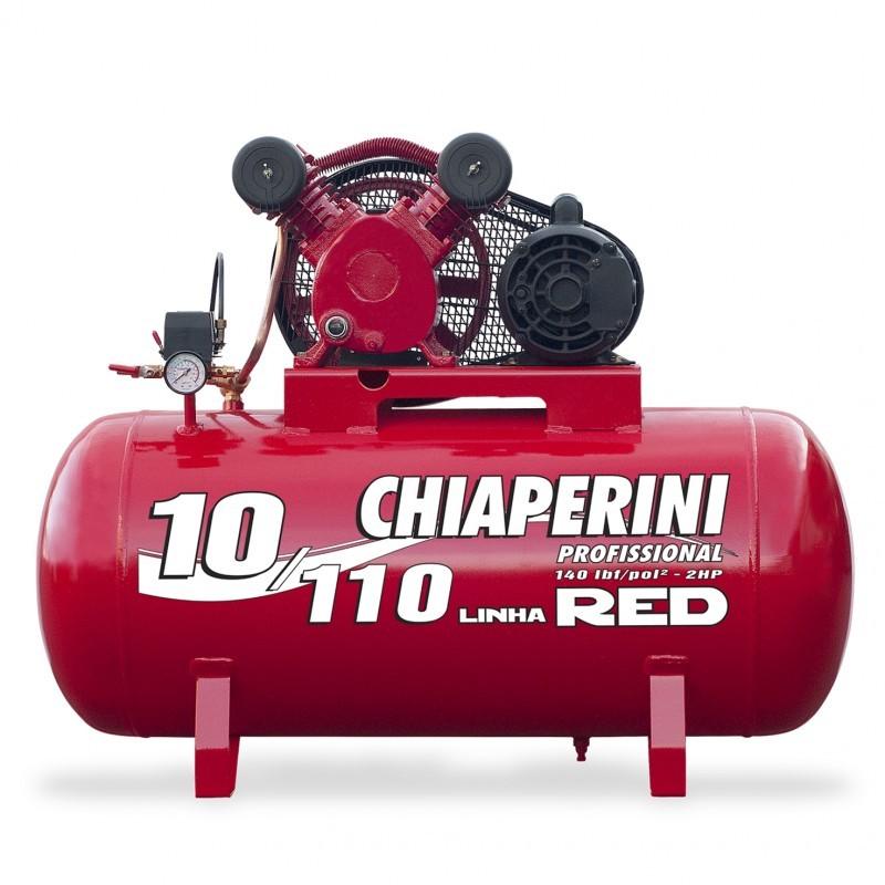 Foto 1 - Compressor de Ar - 10/110L RED