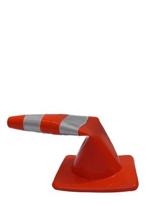 Foto2 - Cone Flexível - Refletivo