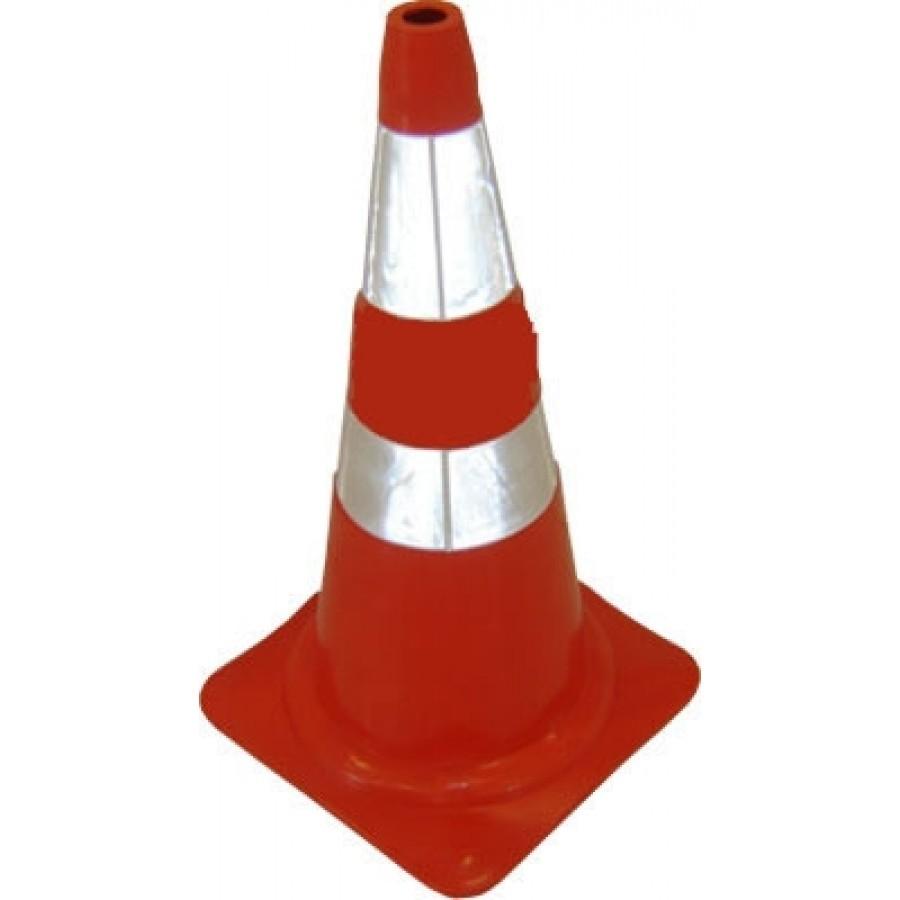 Foto 1 - Cone Semi-flexível - Refletivo