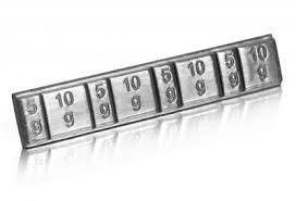 Foto2 - Contrapeso para Balanceamento - Adesivo