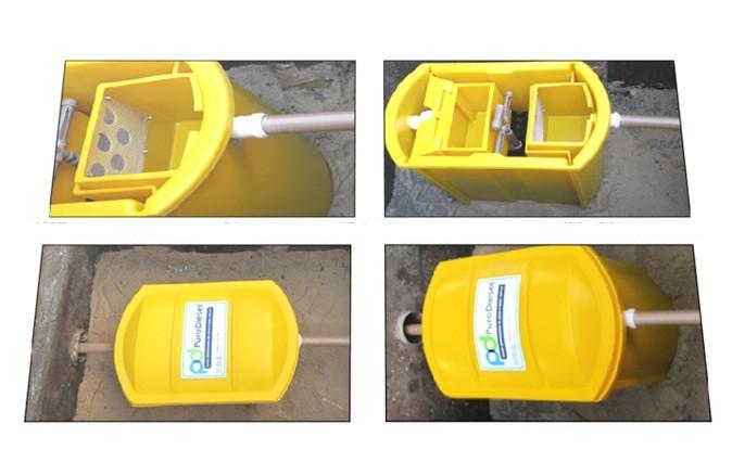 Foto3 - Caixa Separadora de Água e Óleo - 3000L/H
