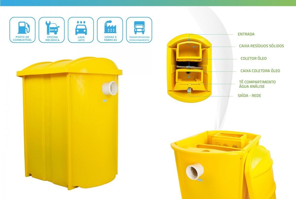 Foto 1 - Caixa Separadora de Água e Óleo