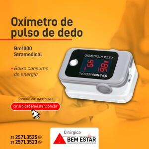 Oxímetro de Pulso de Dedo