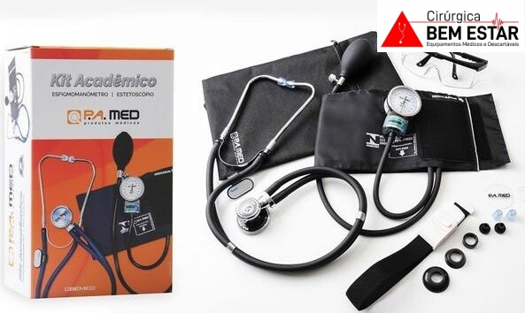 Foto 1 - Kit Acadêmico P.A Med