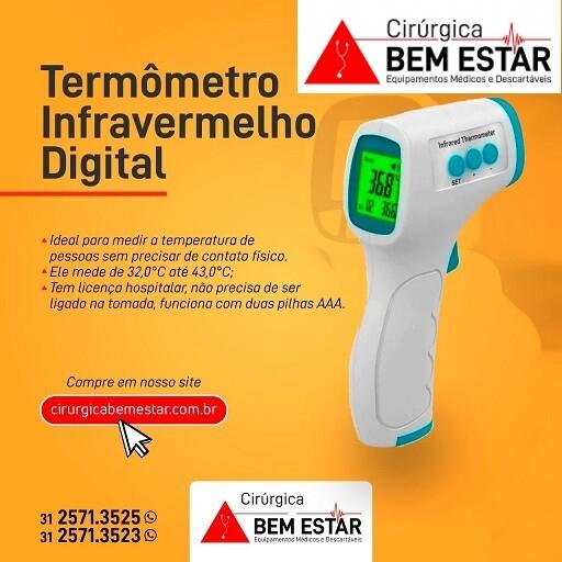 Foto 1 - Termômetro sem contato