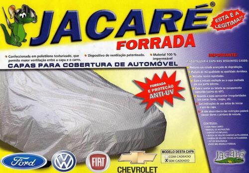 Foto 1 - CAPA JACARÉ 100% FORRADA