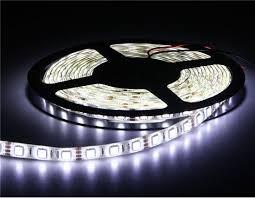 Foto1 - FITA LED EM ROLO 5M SMD BRANCA C/ADAP. Ref.: 32026