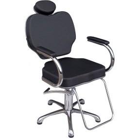 Foto 1 - Cadeira Reclinável Brasil Base aço cromado