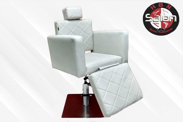 Foto 1 - Cadeira Reclinável França Base quadrada aço inox