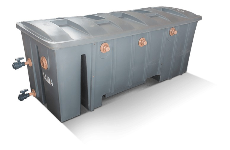 Foto 1 - Separadora de Água e Óleo 1.000 e 2.000 litros/hora