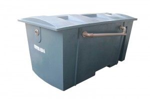 Foto1 - Separadora de Água e Óleo 5.000 litros/hora