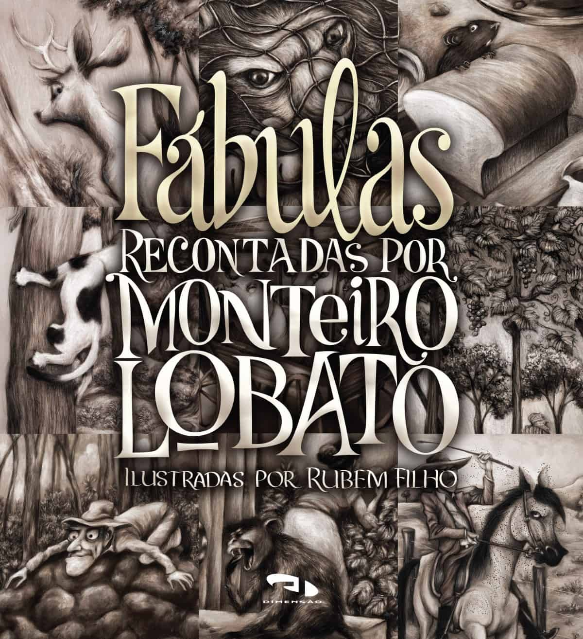 Foto 1 - Fábulas recontadas por Monteiro Lobato