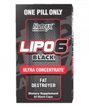 Lipo 6 Black Ultra Concentrado - Nutrex