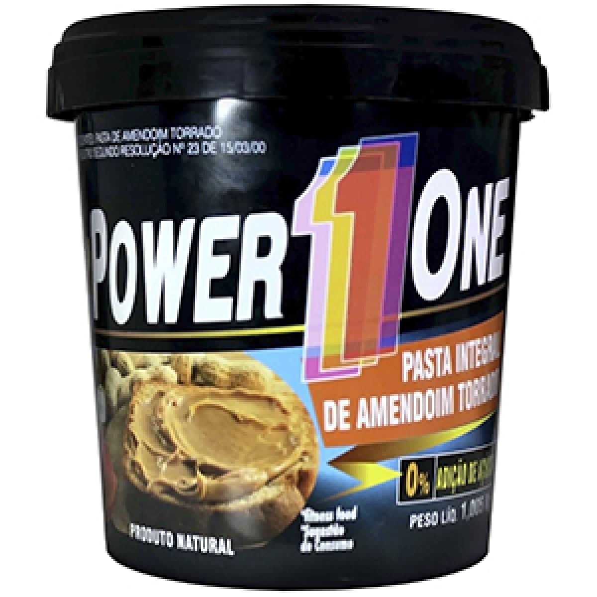 Foto 1 - Pasta de Amendoim Integral - Power 1One