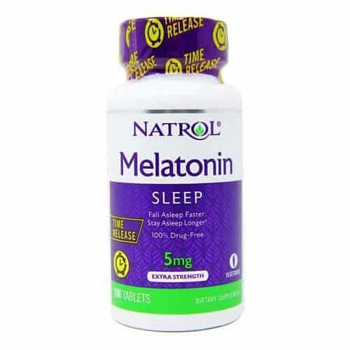 Foto 1 - Melatonin - Natrol - 5mg - 100tabs