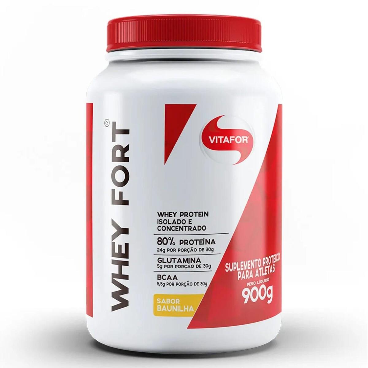 Foto 1 - Whey Fort - 900gr - Vitafor