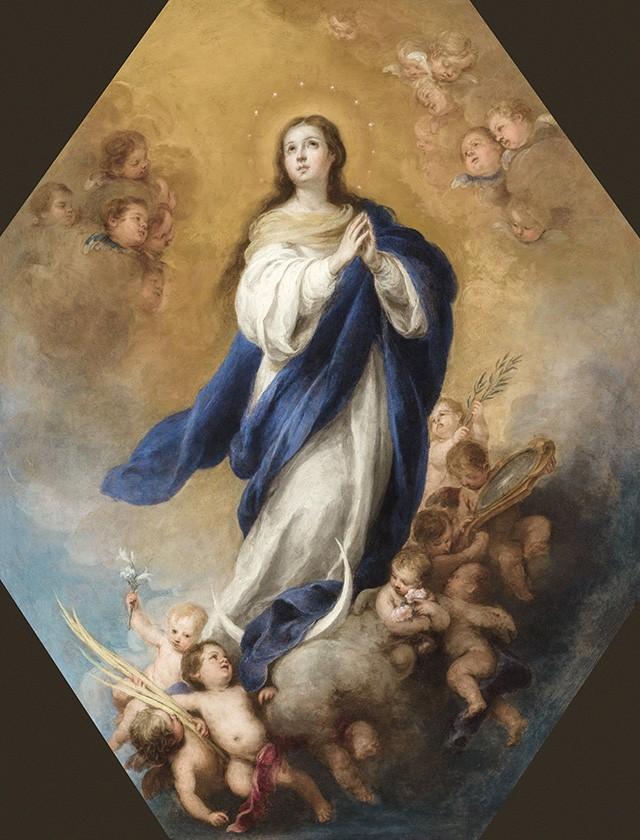 Foto 1 - Concepção Imaculada? Pintura de Murillo em TELA