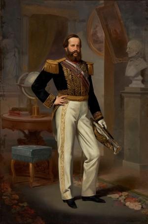 Retrato Dom Pedro IIPintura de Victor Meirelles em TELA