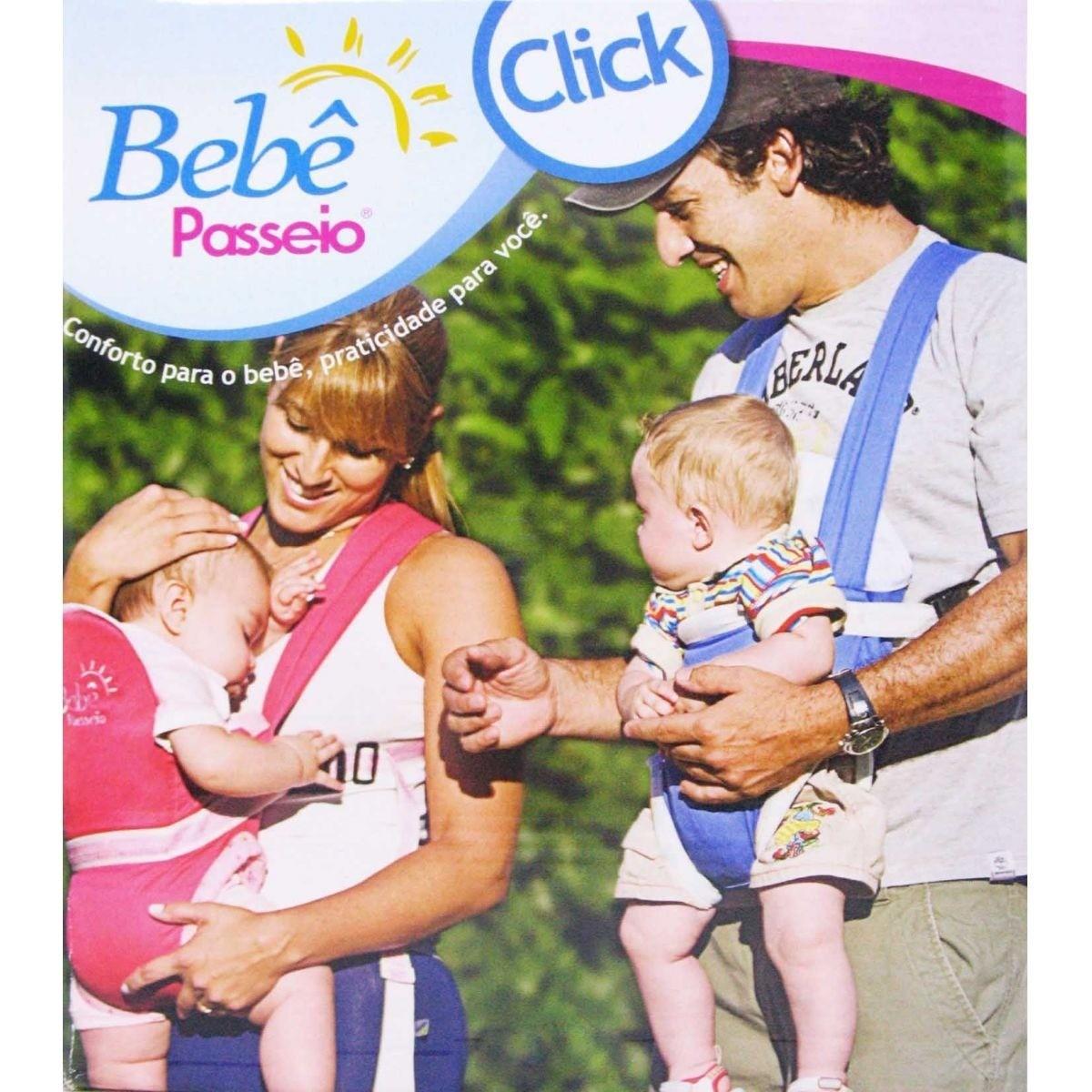 Foto3 - CANGURU BEBÊ PASSEIO PANDA COM FIVELA/FECHO