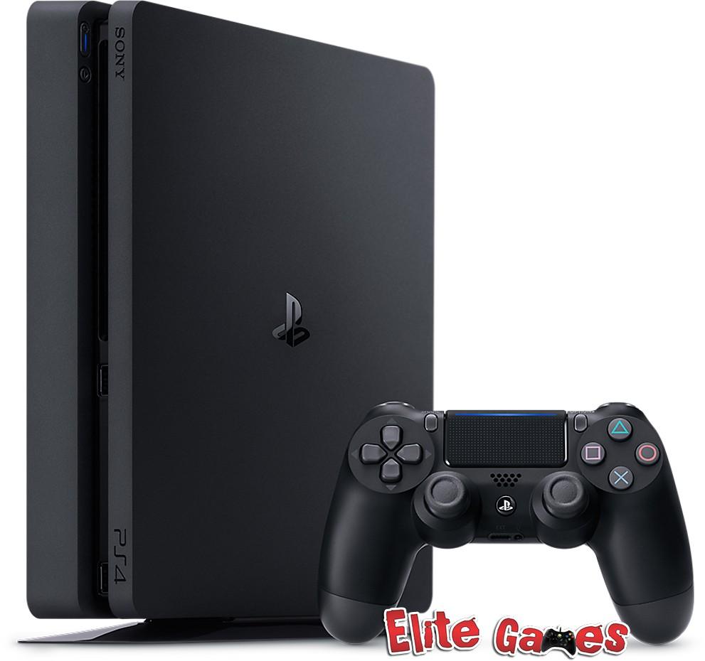 Foto 1 - Playstation 4 Slim 1 TB + 1 Controle C/ 1 ano de GARANTIA!!!