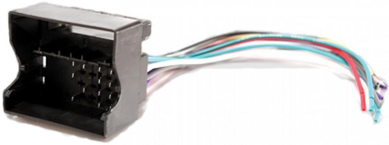 Foto 1 - CHICOTE ADAPT QUADRILOCK 16P P\VW SEM CONECTOR ISO