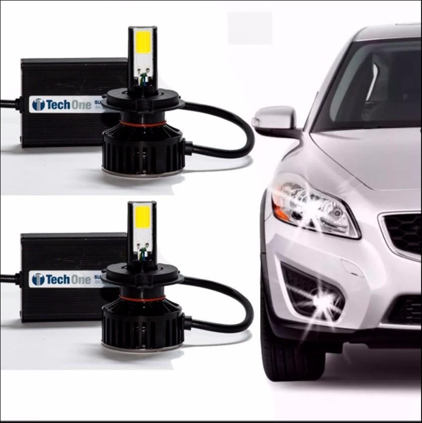 Foto 1 - Lampadas Automotiva TechOne Super Led H4 Com Adaptador 12 - 24V