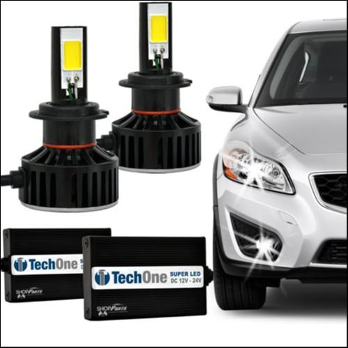 Foto 1 - Lampadas Automotiva TechOne Super Led H8 12 - 24V