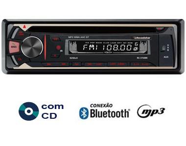 Foto 1 - RADIO CD\USB\SD\AUX\AM\FM\BLUETOOTH C/CONTROLE REMOTO 4X50W ROADSTAR RS-3750BR