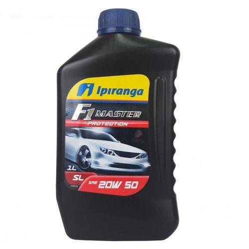 Imagem do produto Óleo Lubrificante Do Motor Ipiranga F1 Master Protection Sl Sae 20w50 Mineral 1l