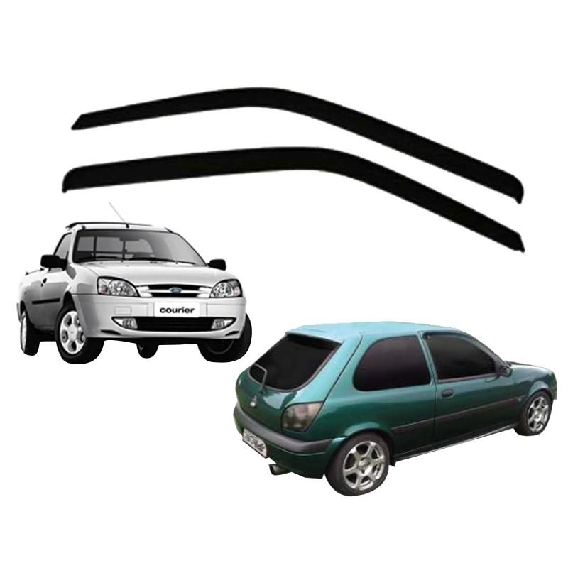 Imagem do produto Calha de Chuva Defletor Courier / Fiesta 1996 até 2003 2 Portas