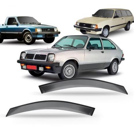 Imagem do produto Calha Defletor De Chuva Marajo 83 À 88 Chevy 84/94 Chevette