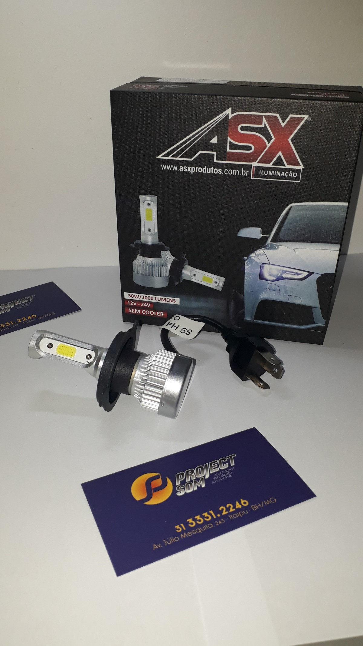 Imagem do produto SUPER LED H4 30W / 3000 LÚMENS