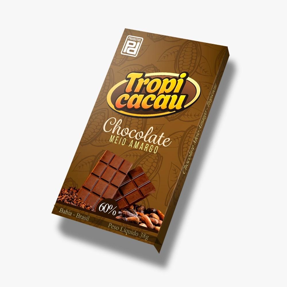 Foto 1 - Barra de chocolate 60%