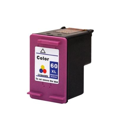 Foto 1 - HP 60XL |Cartucho Compatível| 18ml | Cor: Color | Série 3000