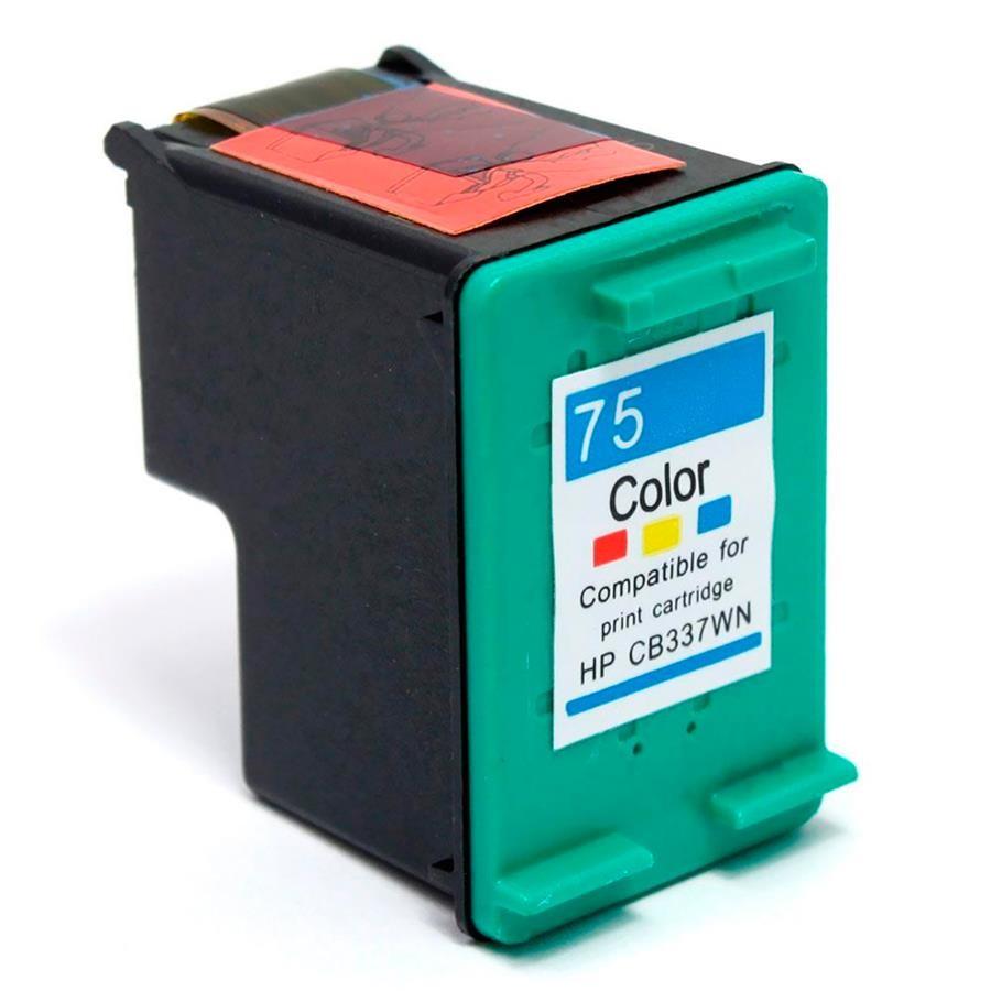 Foto 1 - HP 75XL |Cartucho Compatível| 22ml | Cor: Color | Série 3000