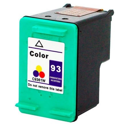 Foto 1 - HP 93XL |Cartucho Compatível| 10ml | Cor: Color | Série 3000