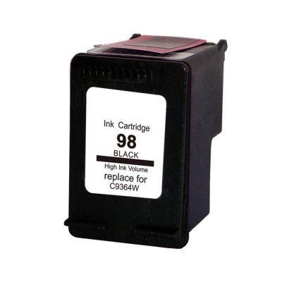 Foto 1 - HP 98 |Cartucho Compatível| 20ml | Cor: Preto | Série 3000