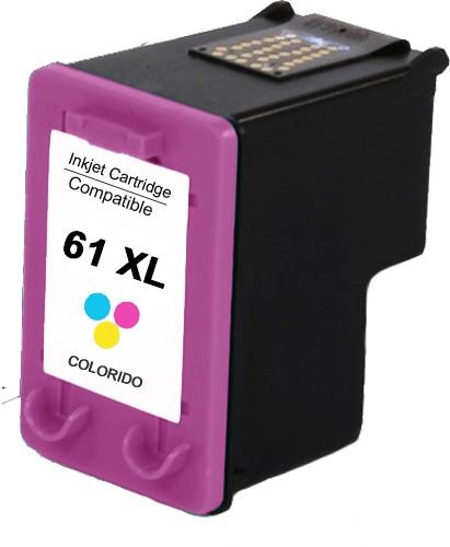 Foto 1 - HP 61XL  Cartucho Compatível  18ml   Cor: Color   Série 3000
