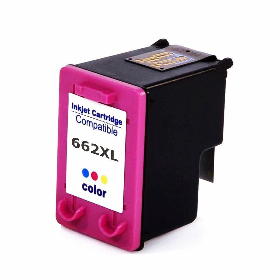 Foto 1 - HP 662XL |Cartucho Compatível| 18ml | Cor: Color | Série 3000
