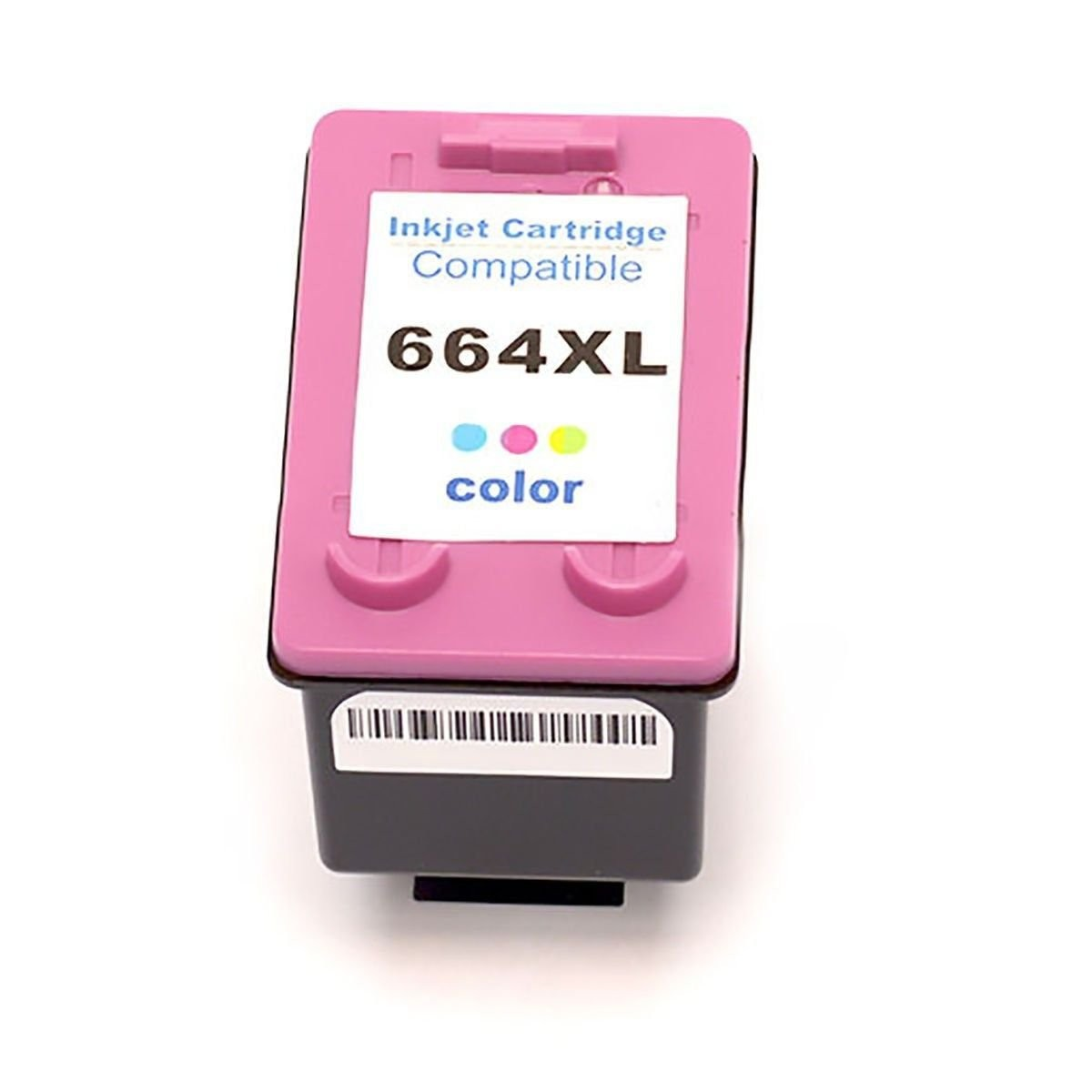 Foto 1 - HP 664XL  Cartucho Compatível  18ml   Cor: Color   Série 3000